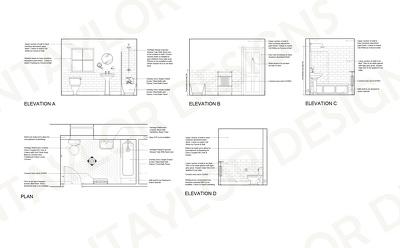 Create 2D floor plans & elevation drawings