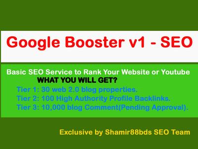 Google Booster v1 - Premium Backlinks to Boost Rank on Google