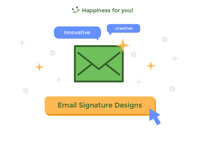 Design you a beautiful Email signature