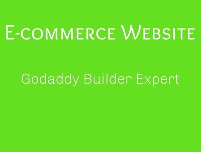 Develop an e-commerce website on godaddy