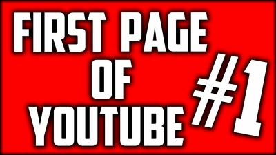 Rank your youtube video first page of you tube
