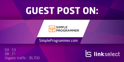 Publish a guest post on SimpleProgrammer.com