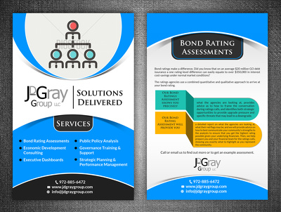 Design an eye catching double sided flyer (leaflet)