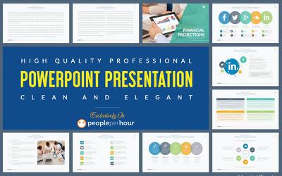 Design 15 slides Professional PowerPoint Presentation