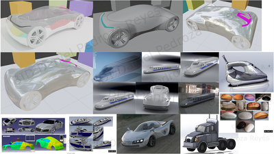 Design product accessories and 3D consumer product concepts