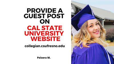 Guest Post on Cal State University, Collegian.csufresno.edu DA64