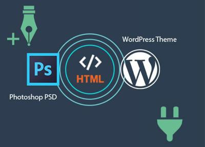 Convert psd or html into responsive wordpress website