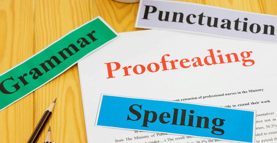 Be your professional proofreader and editor
