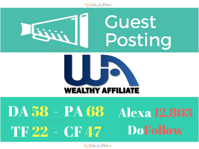 Publish Guest Post On WealthyAffiliate, Wealthyaffiliate.com