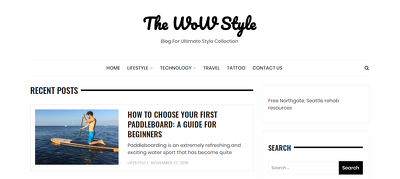 Guest post on Lifestyle site Thewowstyle.com |Dofollow|