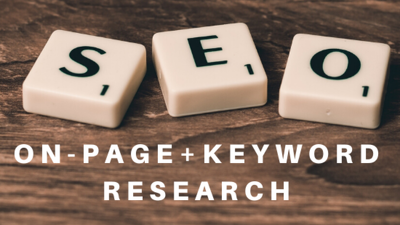 Do profitable keyword research and on page SEO