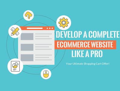 Develop you a complete eCommerce website / shopping cart