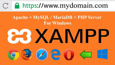 Configure custom domain + ssl on windows xampp (localhost)