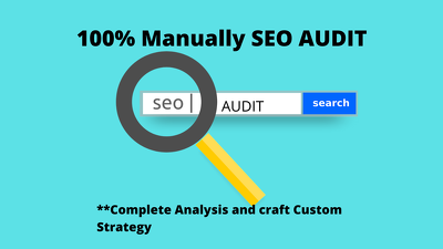Get Full Website SEO Audit Manually with Recommendation