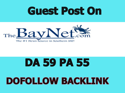 I will give you a Dofollow guest post on thebaynet.com (DA 59)