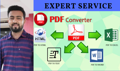 I can convert PDF to word or excel, up to 25 pages