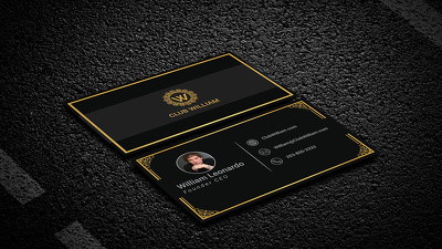 Design luxury business cards and stationary