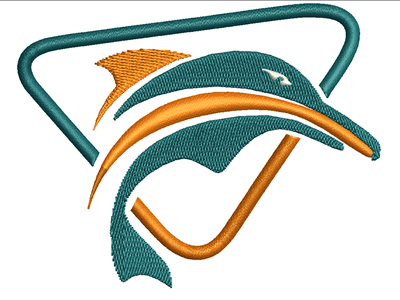 Make an awesome embroidery digitizing logo into dst, pes, emb!