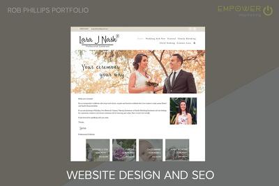 Design a 5-page website