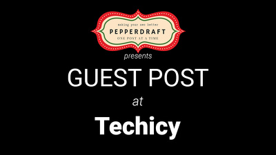 write & publish an article on Techicy.com