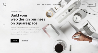 Edit and redesign your square-space website