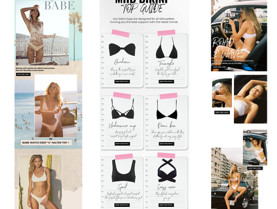 Design your Fashion Newsletter for Mailchimp