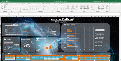 Make an Interactive Excel Dashboard & Pivot table