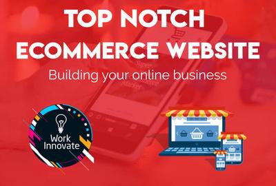 Design ecommerce wordpress website, woocommerce online store