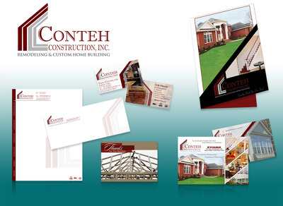 Design a robust corporate branding package