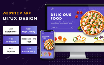 Design responsive website and mobile app
