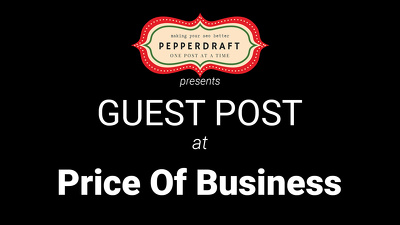 write & publish an article on PriceOfBusiness.com