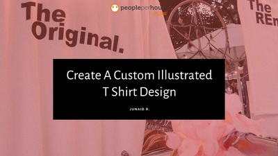 Create A Custom Illustrated T Shirt Design