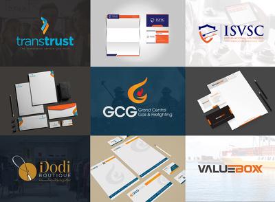 Design creative logo with premium brand identity