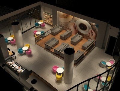 Design your home or restaurant in 2D 3D