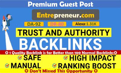 Submit A HQ Guest Post on Entrepreneur, Entrepreneur.com - DA91