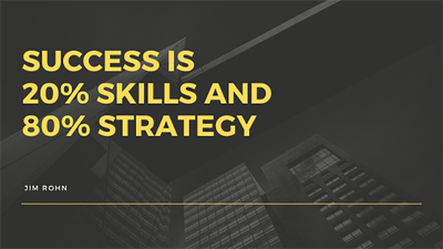 Develop a strategy that will grow your small business fast