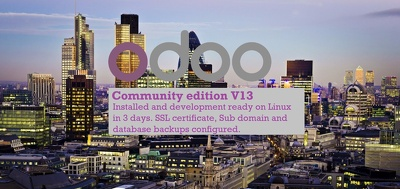 Setup and config Odoo Community Edition V13