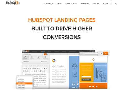 i will design hubspot landing page templates
