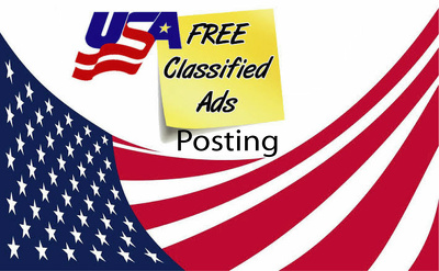 Provide you 30 Advertising Classified ads posting on UK&USA site