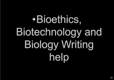 WRITE AN ARTICLE OF 1000 WORDS BIOSCIENCES