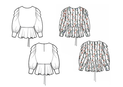 Create Fashion CAD Drawings and Tech Pack