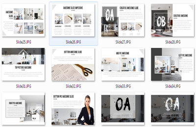Creative 25 slide Powerpoint Presentation Creative as you want