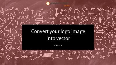 Convert your logo image into vector
