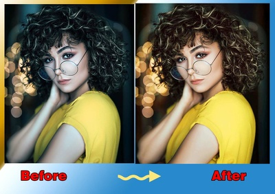 Retouch Your  4  Photos professionally