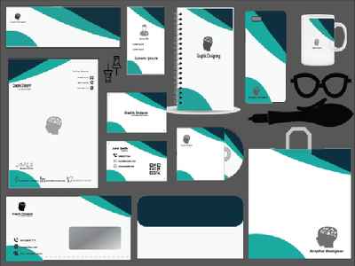 Design your business card and stationary items
