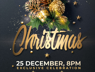 Design a Christmas Flyer with unlimited revisions