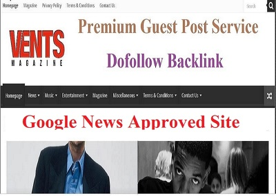 do Dofollow guest post on ventsmagazine,ventsmagazine.com