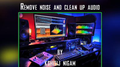 Remove noise and clean up one of your audio
