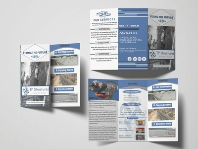 Do a business flyer and brochure design 10 hr