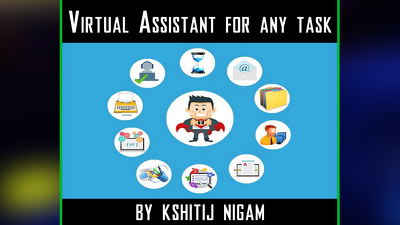 Virtual assistant services for any task